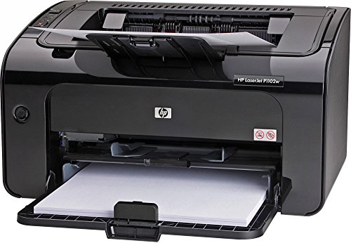 HEWCE658A - HP LaserJet Pro P1102W Laser Printer - Monochrome - 600 x 600 dpi Print - Plain Paper Print - Desktop (Renewed)