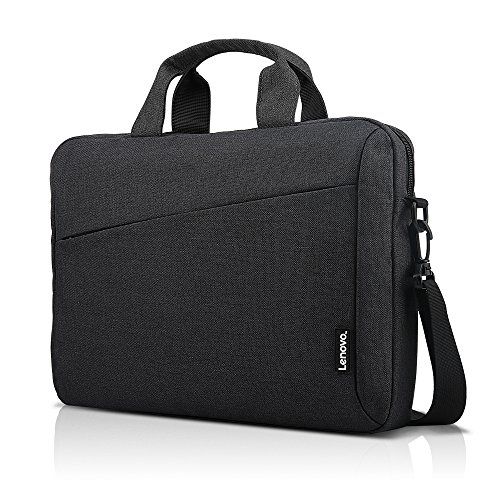 (Lenovo Laptop Carrying Case T210, fits for 15.6-Inch Laptop and Tablet, Sleek Design, Durable and Water-Repellent Fabric, Business Casual or School, GX40Q17229)