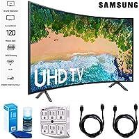 Samsung 65NU7300 65 NU7300 Smart 4K UHD TV 2018 with Surge Protector + Cleaning Kit (UN65NU7300)