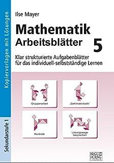 Arbeitsblätter Mathematik: 5./6. Jahrgangsstufe - Kopiervorlagen mit ...