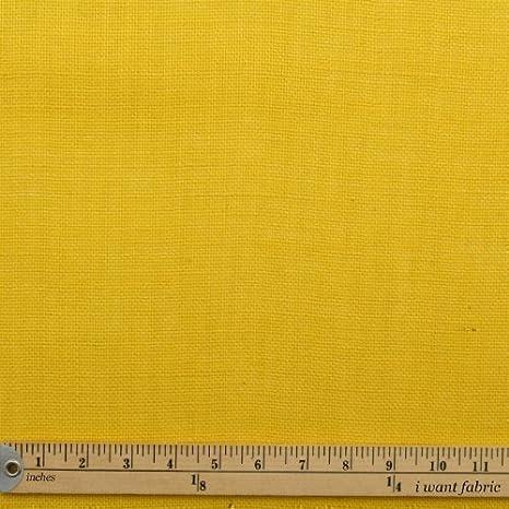 Tela De Manualidades De Yute Color Amarillo 101 Cm Amazon Es Hogar