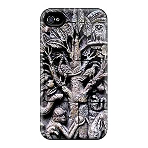 DustinHVance Snap On Hard Case Cover Asian Art Protector For Iphone 4/4s
