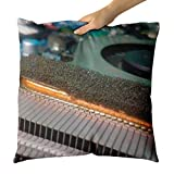 Westlake Art - Electronics Hardware - Decorative Throw Pillow Cushion - Picture Photography Artwork Home Decor Living Room - 18x18 Inch (D41D8)