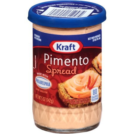 Kraft Pimento Cheese Spread 5 Oz (Pack of 2)