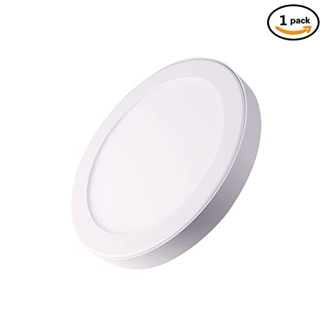 LED Ceiling Light, Solla 18W Round LED Panel Lights, Day White 6000K, 1520LM