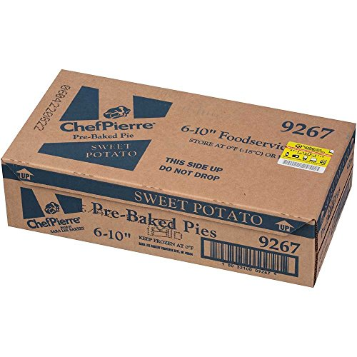 Sara Lee Chef Pierre Pre Baked Sweet Potato Open Face Specialty Pie, 10 inch - 6 per case. by Sara Lee (Image #4)
