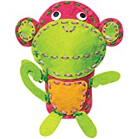 Toiing Stitchtoi DIY Felt Toy Kit for Stitching, Multi Color