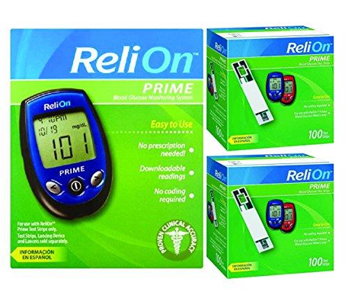 relion prime blood glucose monitoring