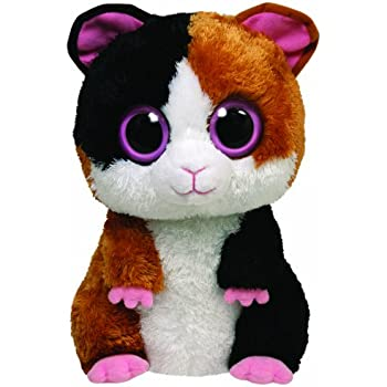 Amazon.com: Ty Beanie Boos Presents - Dog with Hat: Toys