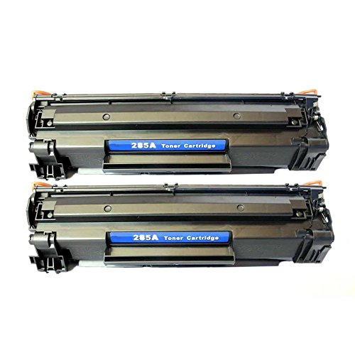 2 PACK SaveOnMany ® HP 85A CE285A HP85A Black BK 285A 85 CE285 New Compatible Laser Toner Cartridge For HP LaserJet Pro M1210, M1212nf, M1217nfw MFP, P1100 Series, P1102 / LaserJet M1132, P1100 Series, P1102W - each 1,600 Pages Yield