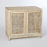 StudioA Driftwood Lattice 2-Door Cabinet, Oversized Item