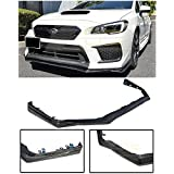 For 2018-Present Subaru Impreza WRX & STi | EOS V-LIMITED Style CARBON FIBER Front Bumper Lower Lip Splitter Under Spoiler