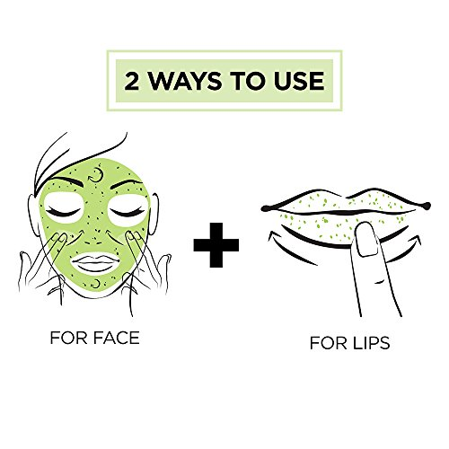 L'Oréal Paris Skin Care Pure Sugar Face Scrub with real Kiwi seeds, To Unclog Pores, Pore Minimizer, 1.7 oz.