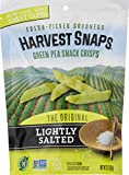 Harvest Snaps Green Pea Snack Crisps, Lightly Salted, deliciously baked and crunchy veggie snacks with plant protein and fiber, 3.3-Ounce Bag (Pack of 12) For Sale