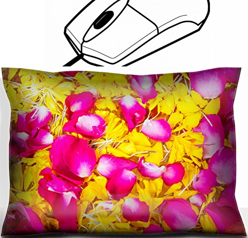 MSD Mouse Wrist Rest Office Decor Wrist Supporter Pillow design 22702620 Corolla flowers background Corolla Pillow