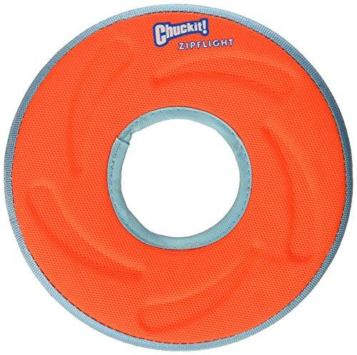 Chuckit 18100 Medium Chuckit! Zipflight Frisbee Dog Toy, Colors may vary ()