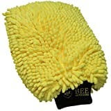 Image of Bee Auto Care Double Chenille Car Wash Mitt and Duster