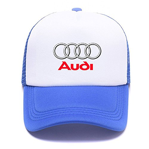 AUD Logo with Y8132E Trucker Hat Baseball Caps Gorras de Béisbol for Men Women Boy Girl Blue
