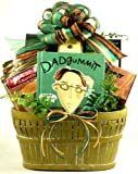 Dadgummit! Witty Dad-isms and Savory Treats Gourmet Gift Basket | Fathers Day Gift or Birthday Gift for Dad