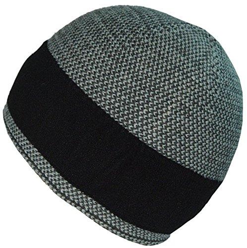 Gorra Gorra Heather diaria sombrero BaronHong hombres cálido terciopelo gris para los Xq7ZOUYq