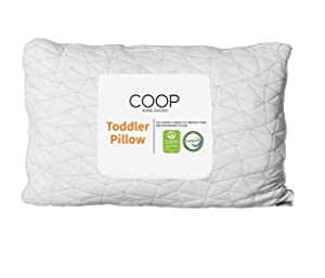 Coop Home Goods - Toddler Pillow and Pillow Protector Bundle - White