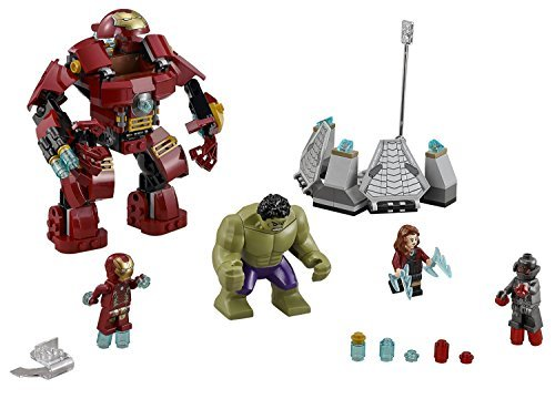 LEGO Super Heroes 248 PCS The Hulk Buster Smash Brick Box Building Toys