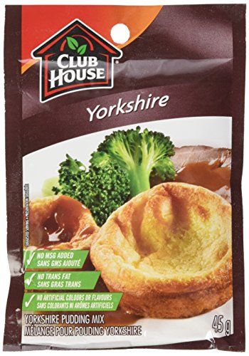 Club House Yorkshire Pudding, 45 gram, 1.58 ounce 12-count {Imported from Canada}