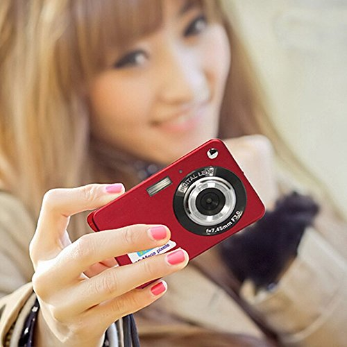 GordVE-SJB26-27inch-18MP-Mini-Digital-Camera-8x-Digital-Zoom-Red-Color
