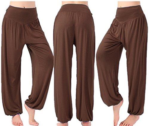 AHR - Pantalón - para mujer marrón