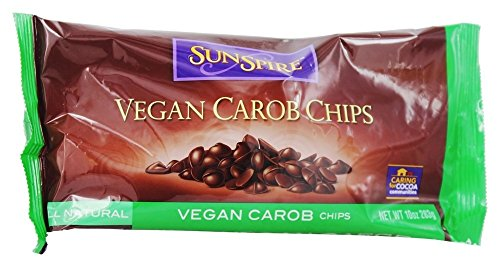 Sunspire Carob Chips All Natural Vegan - 10 oz.