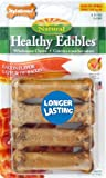 Nylabone Healthy Edible Bacon Bone for Pets, Petite, 8 Count Blister Pack, My Pet Supplies