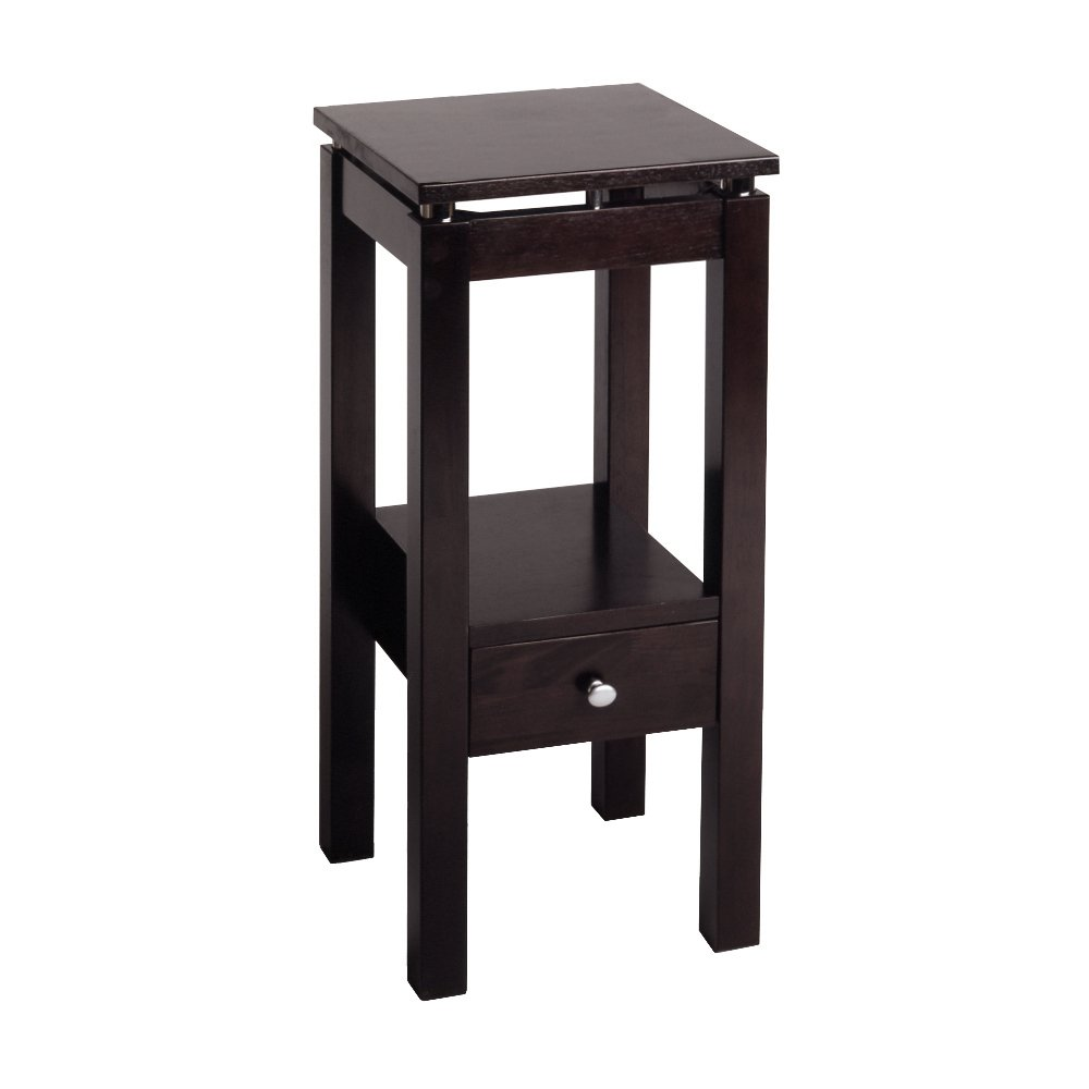 Winsome Wood 92714 Linea Accent Table, Espresso by Winsome Wood