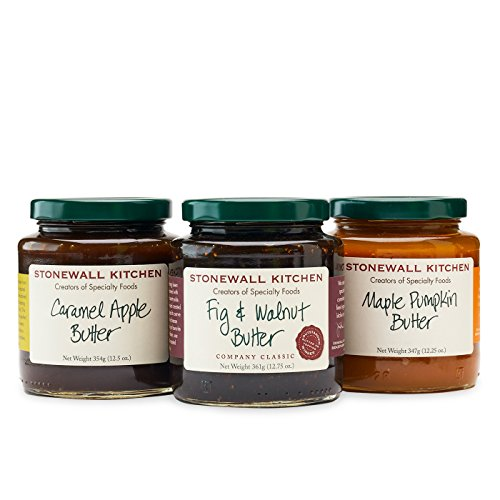 Stonewall Kitchen Our Fruit Butter Collection (3 pc) - Stonewall Kitchen Pumpkin