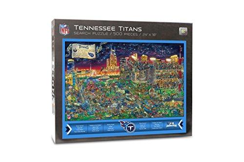 NFL Tennessee Titans Find Joe Journeyman 500-piece Puzzle