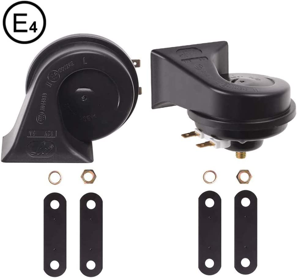 Evermotor Universal Loud Horn For Cars And Motorcycles 12v 5a 118 Db Auto