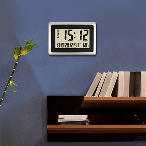 top 10 best led wall clock battery operated reviews 2017