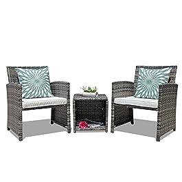 OC Orange-Casual Outdoor Wicker Furniture Set Pati...