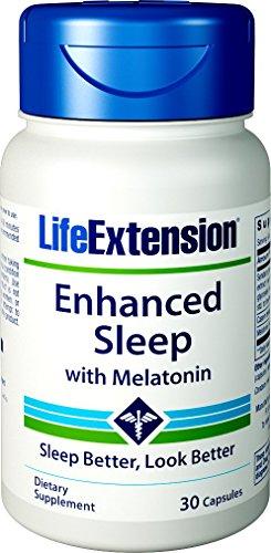 Life Extension Enhanced Sleep with Melatonin, 30 Capsules