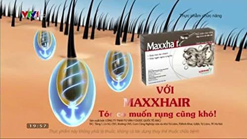 02 Box Maxxhair Help For Hiar Strong, Maxxhair Viên uống hỗ trợ mọc tóc và giảm rụng tóc hiệu quả