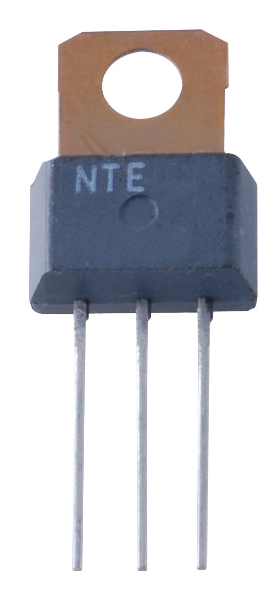 NTE Electronics NTE272 NPN Silicon Complementary Darlington Transistor, Power Amplifiers, TO202N Type Package, 50V, 2 Amp