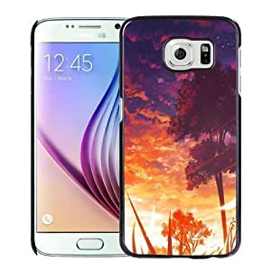 New Personalized Custom Designed For Samsung Galaxy S6 Phone Case For Anime Sunset Scenery Phone Case Cover