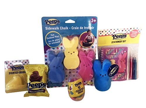 peeps-easter-gift-set-includes-a-peeps-scented-eraser-a-bunny-keychain-a-peeps-milk-chocolate-covere