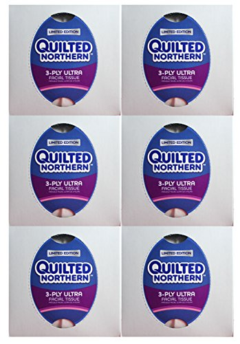 Quilted Northern Ultra Facial Tissue Cube (6 Boxes) - Quilted Northern Cube