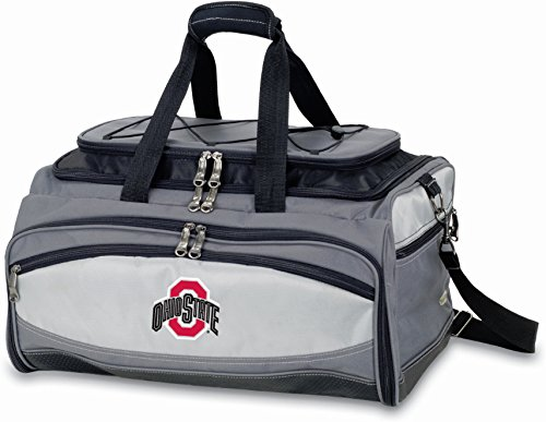 - NCAA Ohio State Buckeyes Picnic Time Buccaneer Tailgating Cooler with Grill