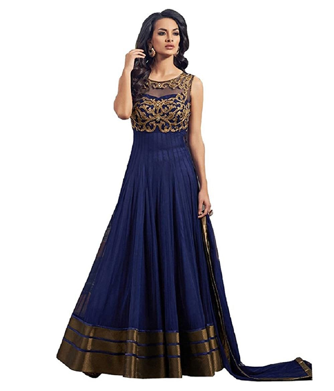 Buy Krisha Presents Net Fabric Silk Bottom Fabric Net Duptta Fabric Navyblue Color Embroidery Work Designer Salwar Suit For Women S At Amazon In,Popular Fashion Designer Brands