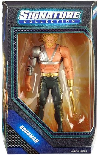 DC Universe Aquaman with Hook Figure Signature Hooks Hook