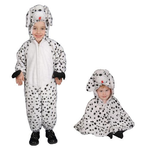 Brave Little Dalmatian Costume Set Cape - 12-24 Month (Dalmatian Halloween Costume For Baby)