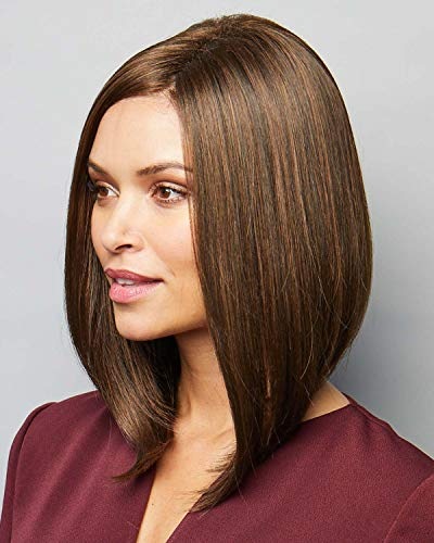Taylor Monofilament Part Synthetic Wig By Noriko Silver Stone -