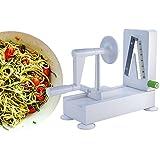 Veggie Spiral Pro Spiralizer New 4 Blade, The Best Vegetable Slicer You Will Ever Use, Make Veggie Pasta Spaghetti In Minutes!