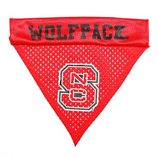 Pet Goods NCAA NC State Wolfpack Collar Bandana, One Size